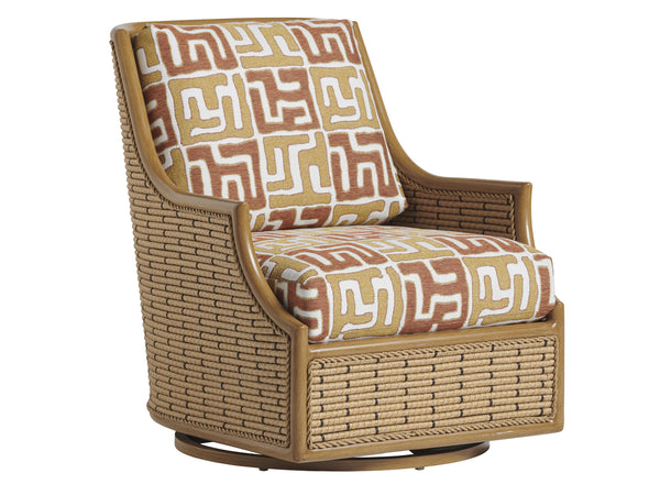 Los Altos Valley View Swivel Glider Occasional Chair by shopbarclaybutera
