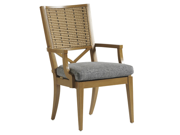 Los Altos Valley View Arm Dining Chair by shopbarclaybutera