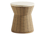 Los Altos Valley View Round Side Table by shopbarclaybutera