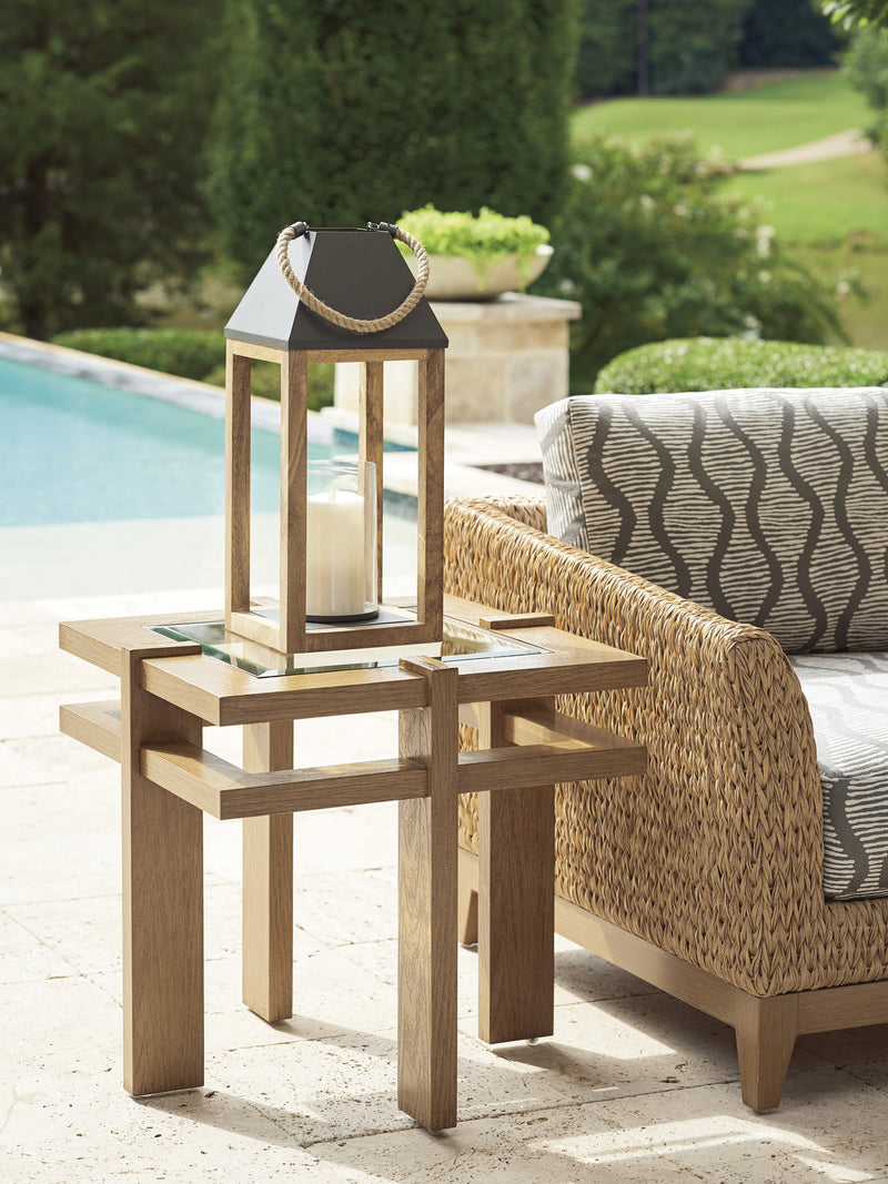Los Altos Valley View Square End Table