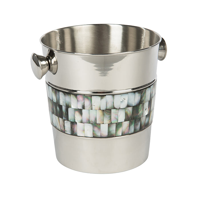 Bone and Nickel Champagne Bucket by shopbarclaybutera