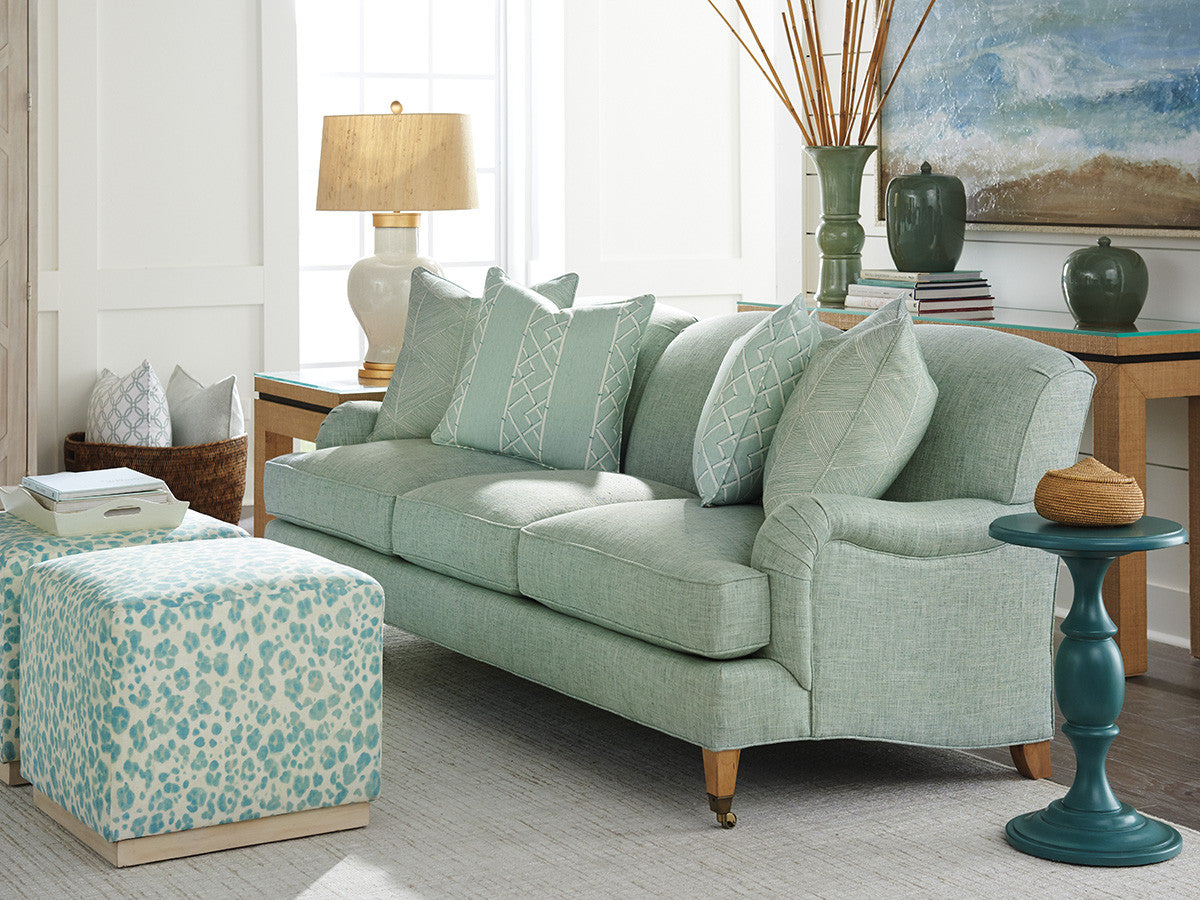 Sydney Sofa With Brass Casters