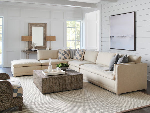 Colony Sectional With Ottoman