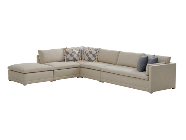 Colony Sectional w/ Ottoman by shopbarclaybutera