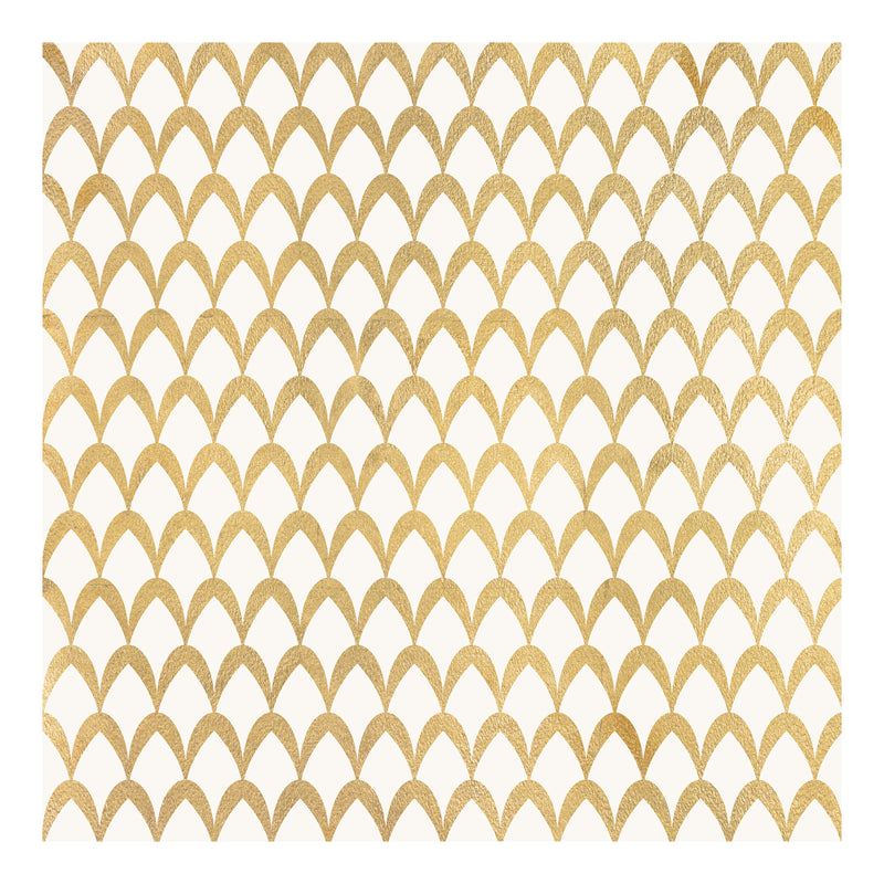 Harmony in Gold IV by shopbarclaybutera