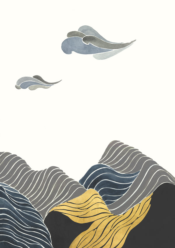 Wave of Mountains II by shopbarclaybutera