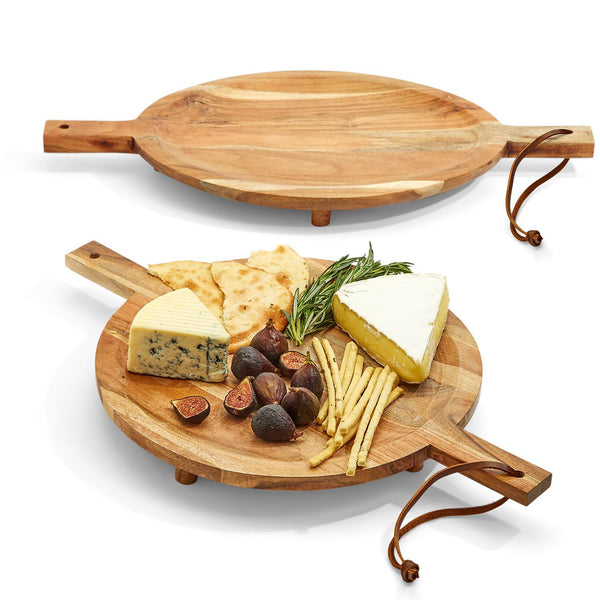 Footed Serving Board