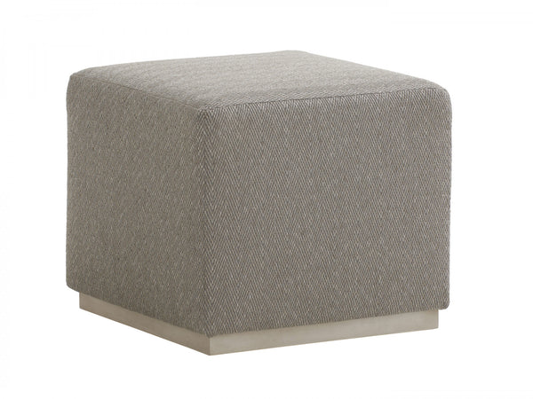 Colby Cube Ottoman in Beige
