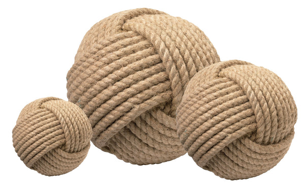 Jute Balls (Set of 3) design by Jamie Young