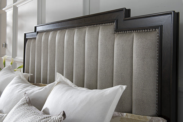 Riviera Channeled Upholstered Bed by shopbarclaybutera