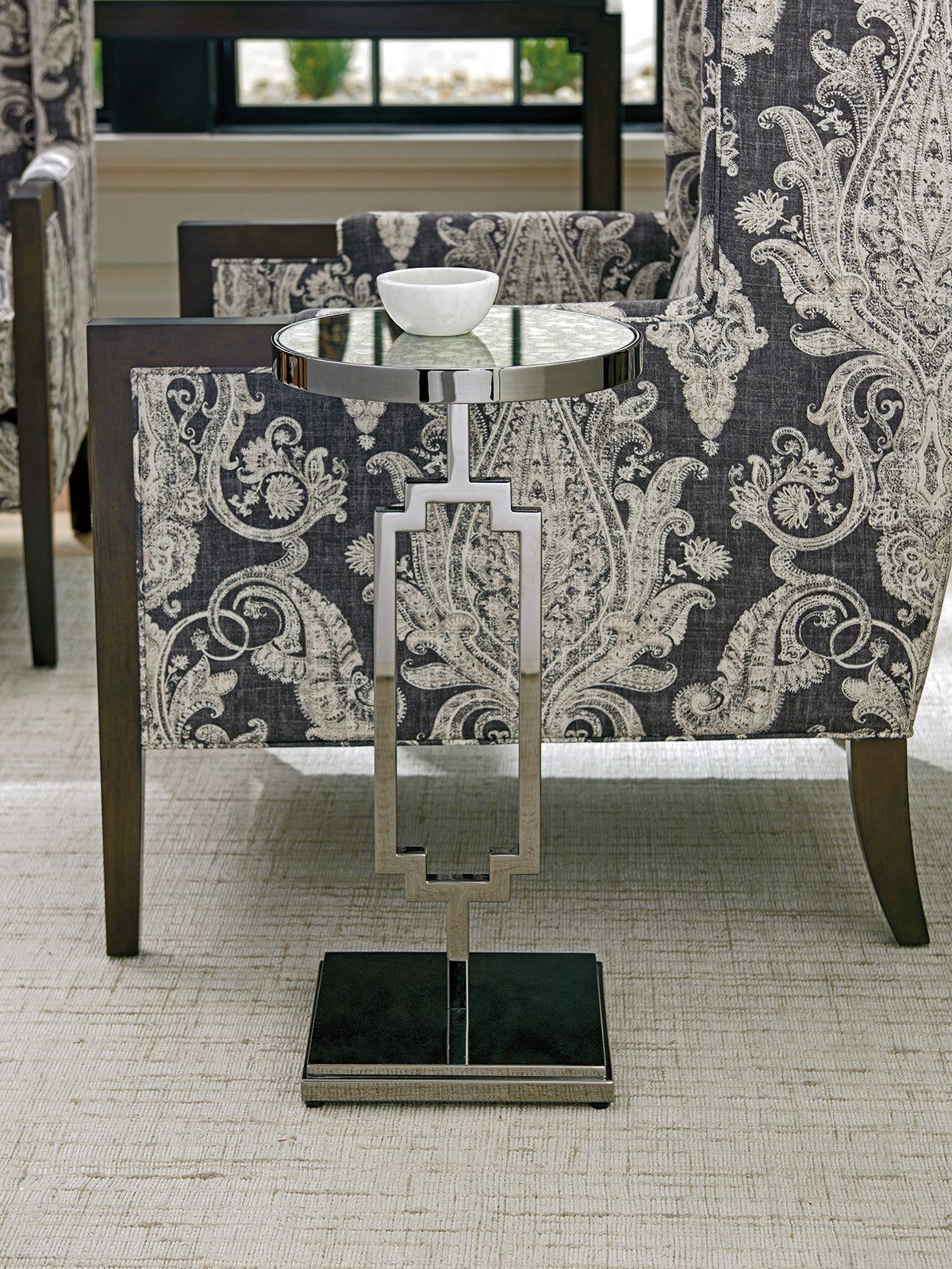 Stonehill Metal Accent Table by shopbarclaybutera
