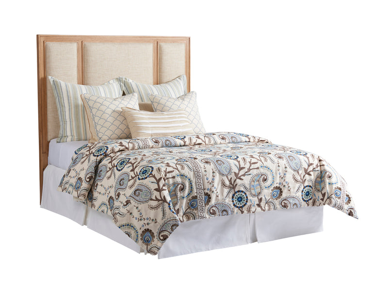 Crystal Cove Upholstered Panel Headboard