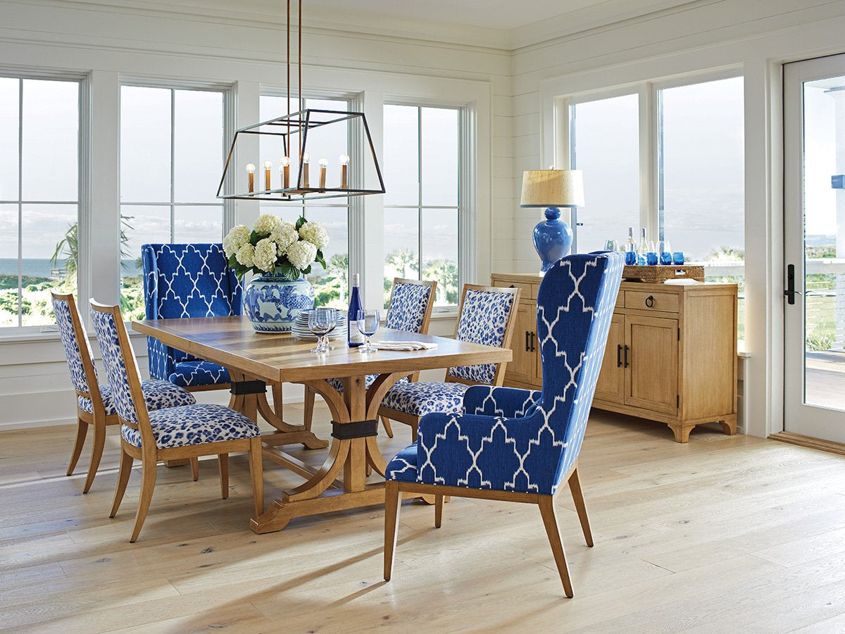 Oceanfront Rectangular Dining Table by shopbarclaybutera