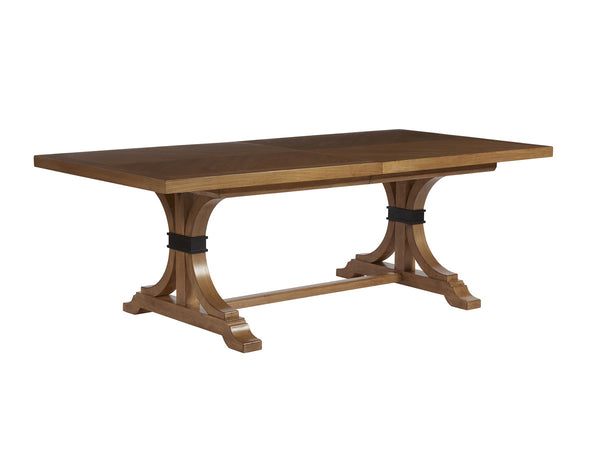 Oceanfront Rectangular Dining Table in Sandstone