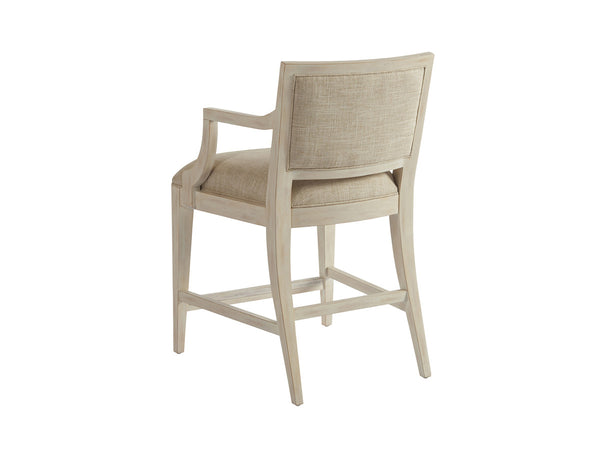 Eastbluff Counter Stool in Sailcloth