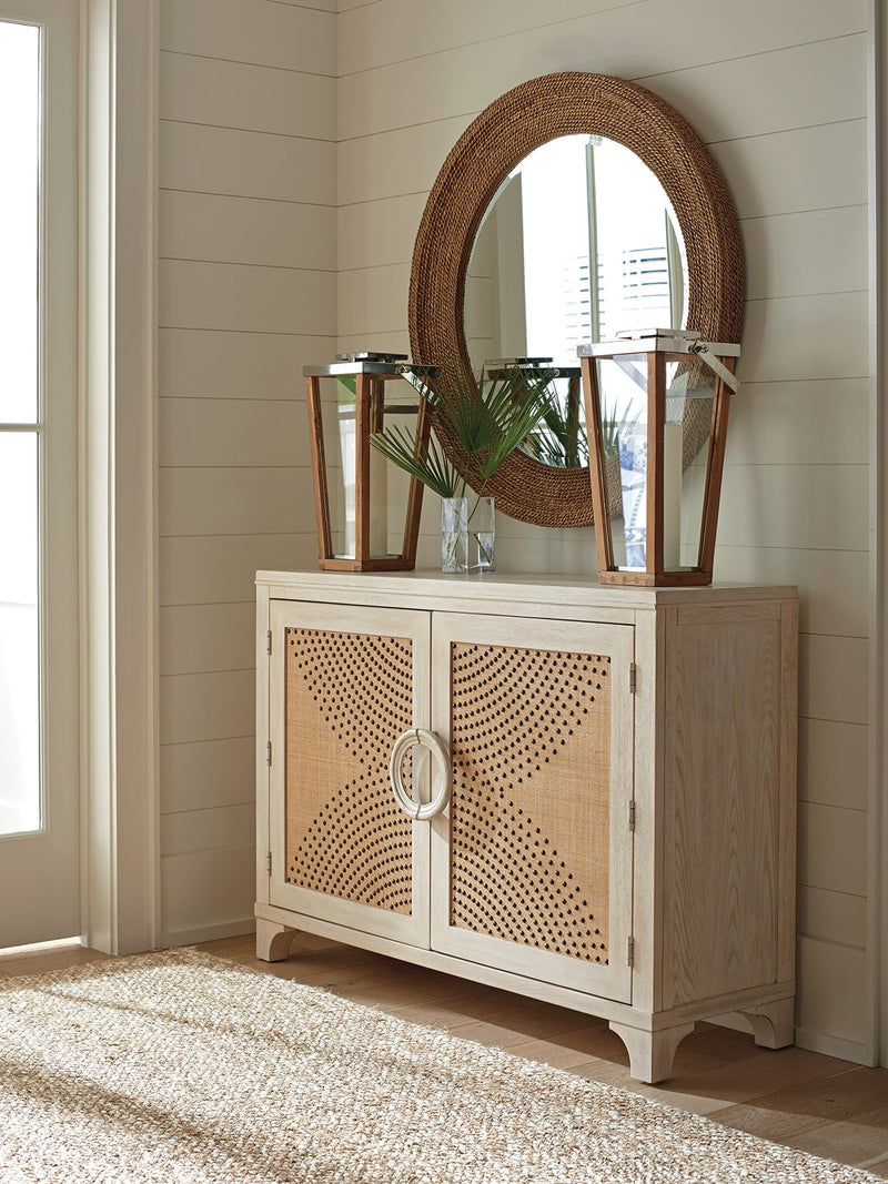 Lido Isle Nailhead Hall Chest by shopbarclaybutera