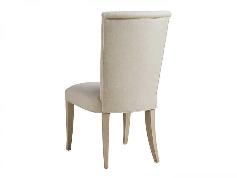 Serra Upholstered Side Chair in Moonshadow