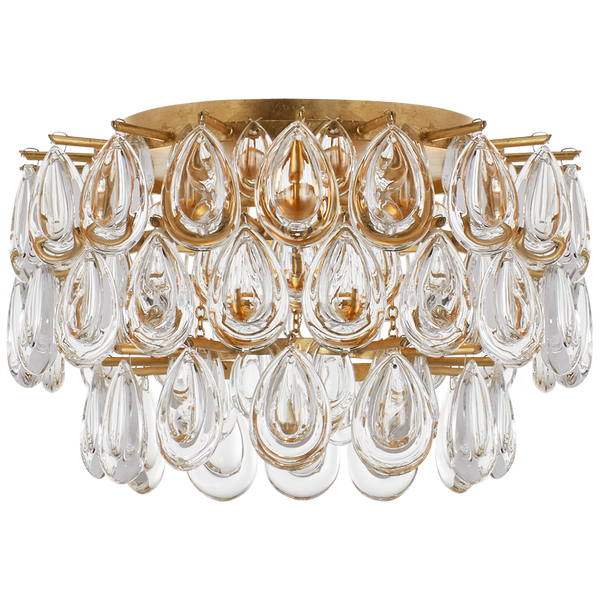Liscia Small Flush Mount by AERIN