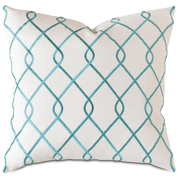 Terrace Sky Knife Edge Accent Pillow