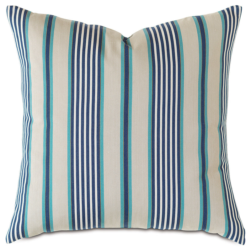 Bret Capri Knife Edge Accent Pillow