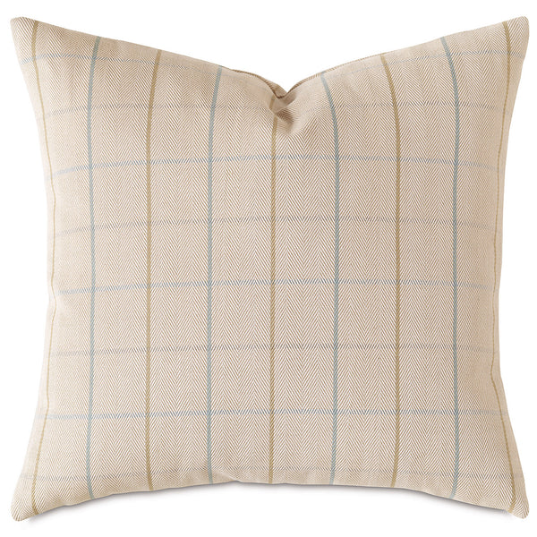 James Mint Accent Pillow