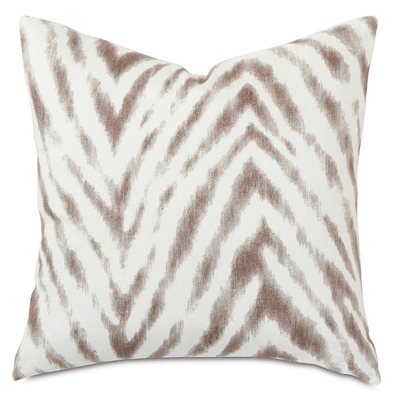 Bynum Cafe Knife Edge Accent Pillow