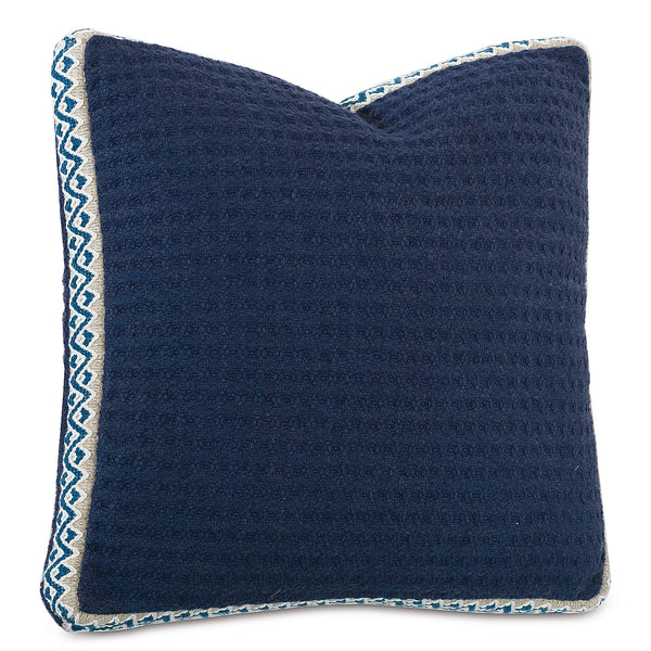 Honeycomb Ink Boxed Accent Pillow