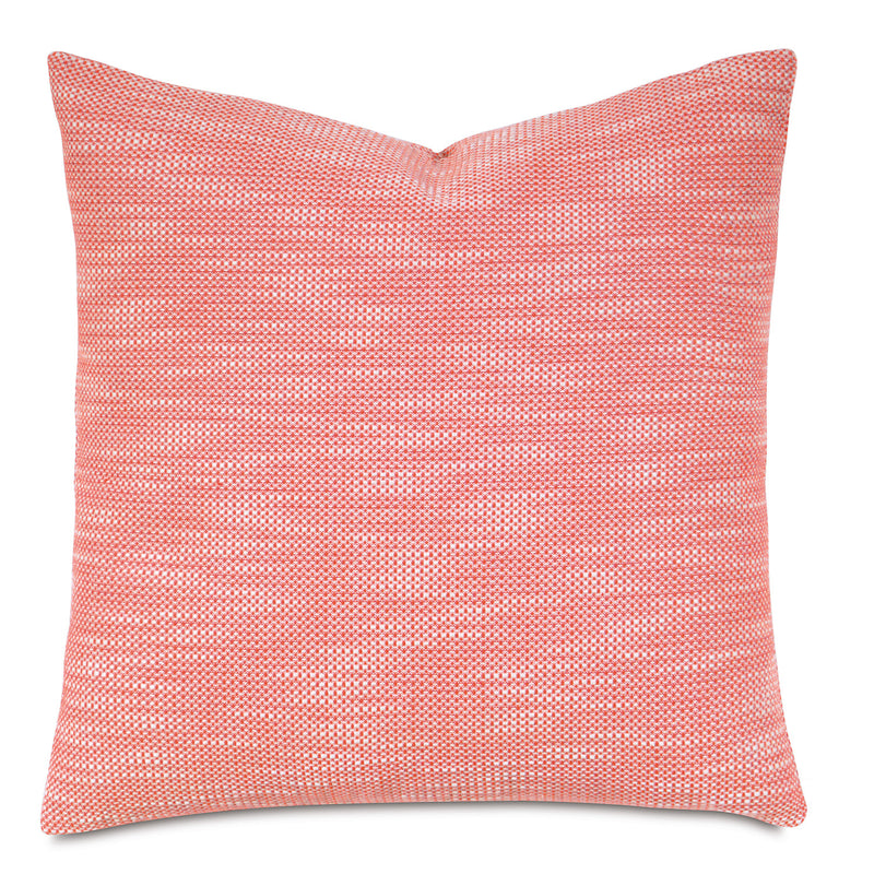 Hillary Melon Accent Pillow