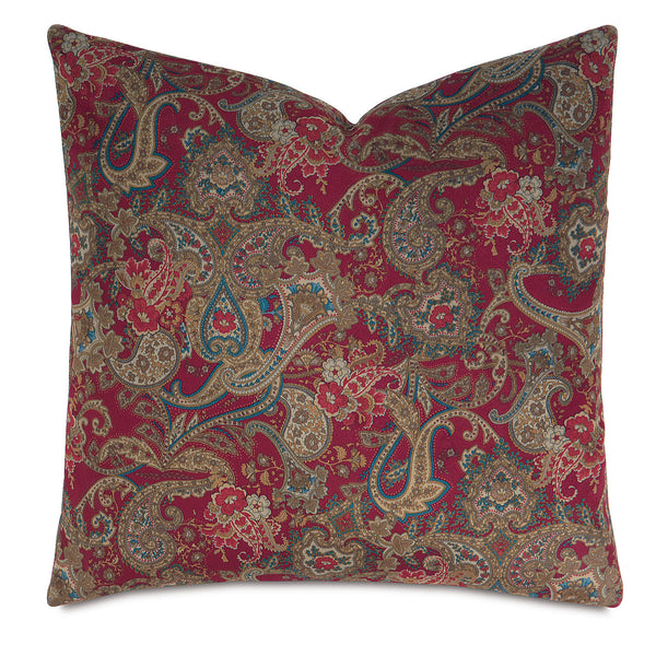 Carmella Rouge Knife Edge Accent Pillow