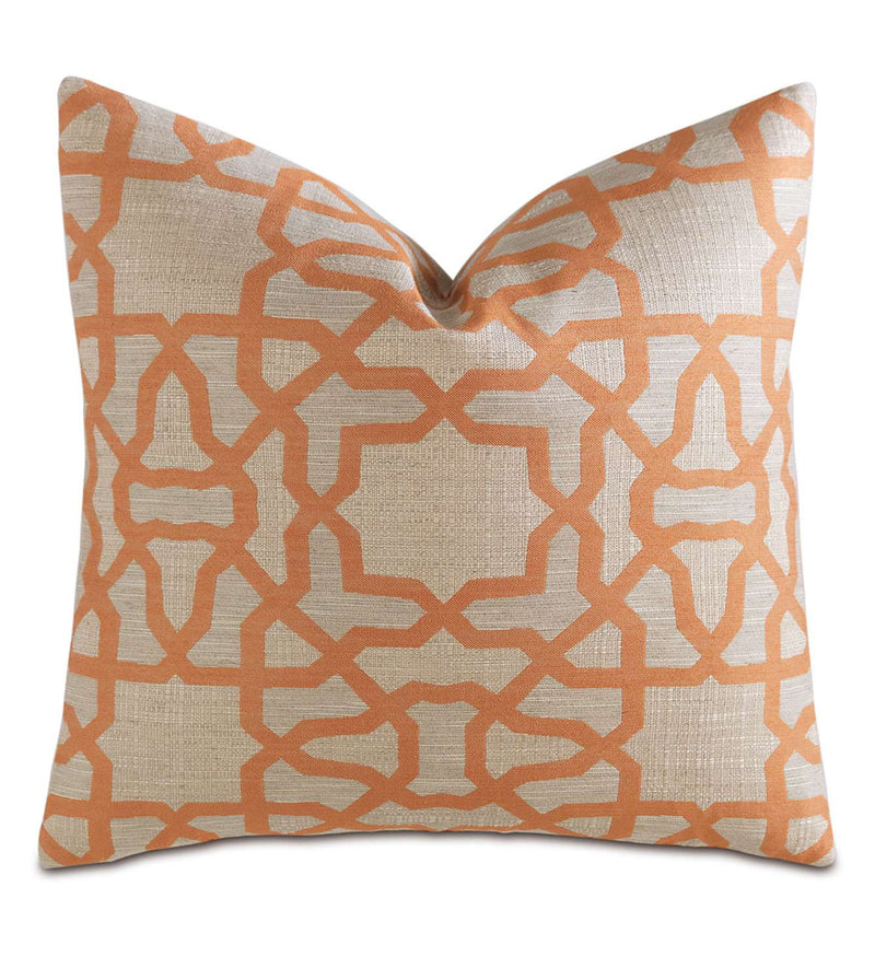Tierra Saffron Accent Pillow
