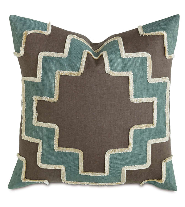 Breeze Clay with Marny Inserts Accent Pillow