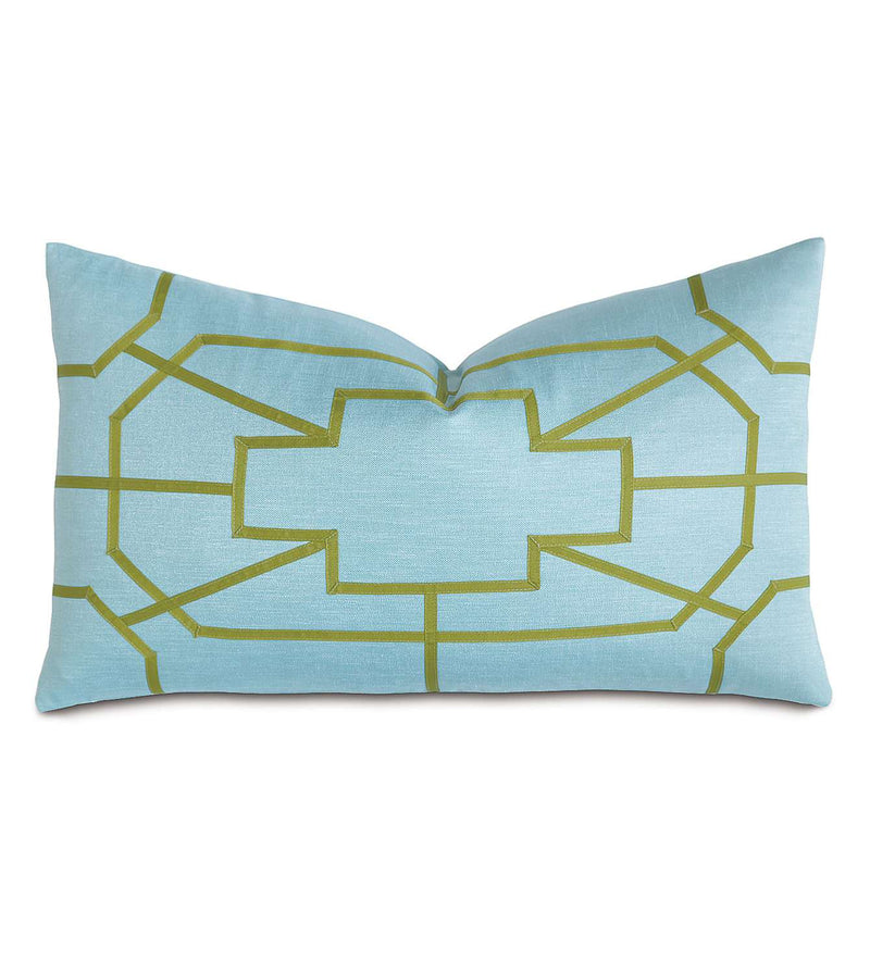 Flynn Pool With Ribbon Accent Pillow