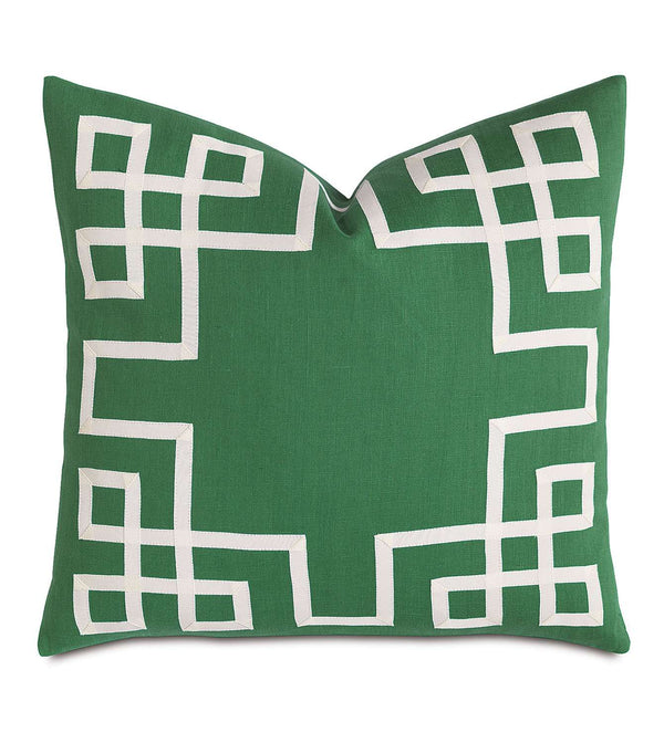 Breeze Kelly with Ribbon Accent Pillow
