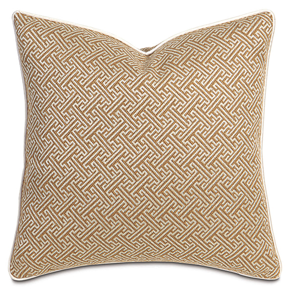 Braxton Camel Accent Pillow