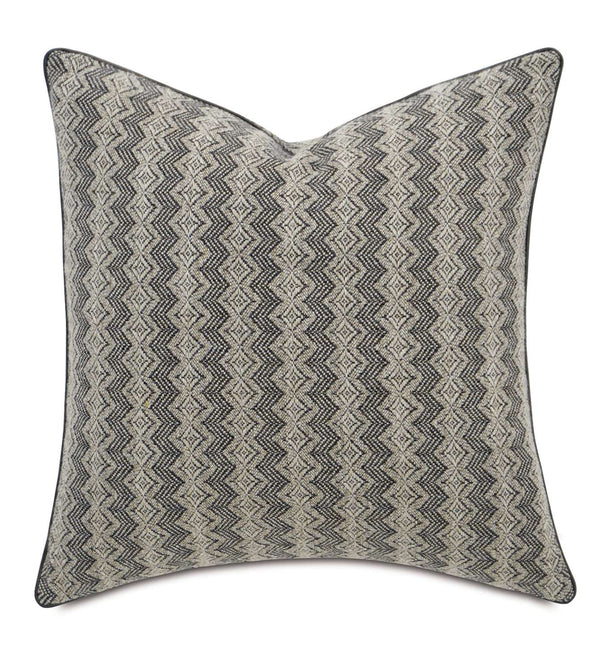 Gunnar Grey Accent Pillow