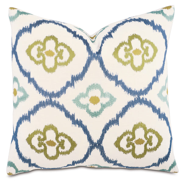 Rica Lime Knife Edge Accent Pillow
