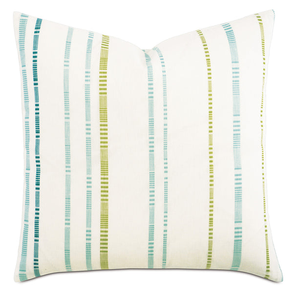 Para Aqua Knife Edge Accent Pillow