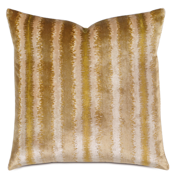 Aslan Honey Knife Edge Accent Pillow