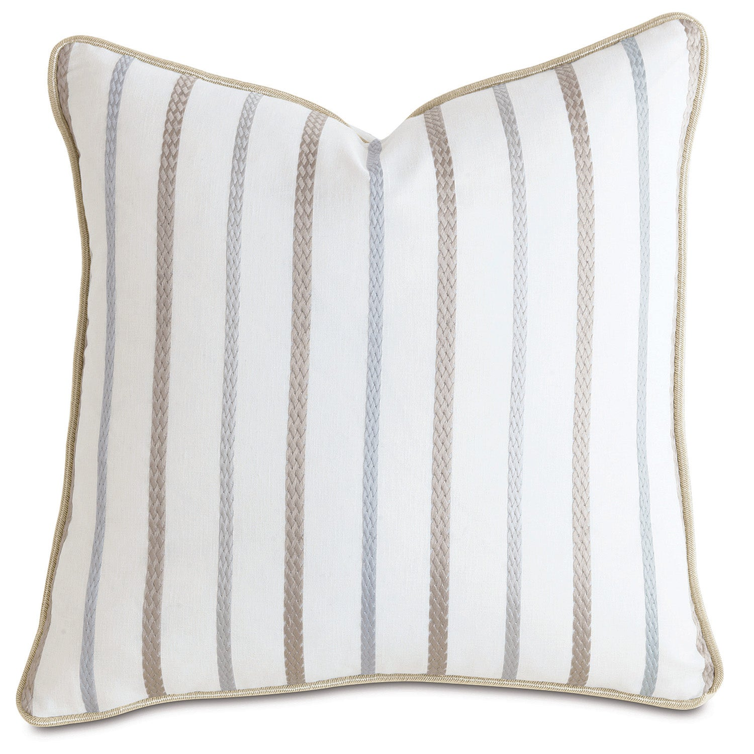 Cheney Pearl with Cord Accent Pillow