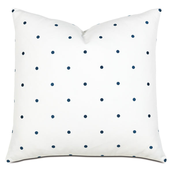 Winnie Navy Knife Edge Accent Pillow