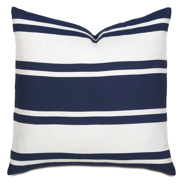 Sawyer Indigo Knife Edge Accent Pillow