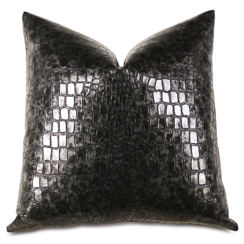 Croc Abyss Accent Pillow