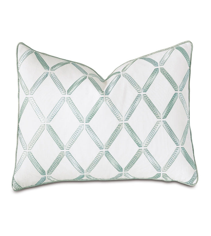 Brentwood Embroidered Decorative Pillow
