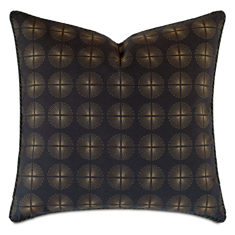 Park Avenue Embroidered Decorative Pillow