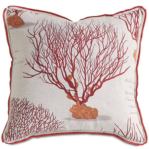 Astern Sunset with Mini Flange Accent Pillow