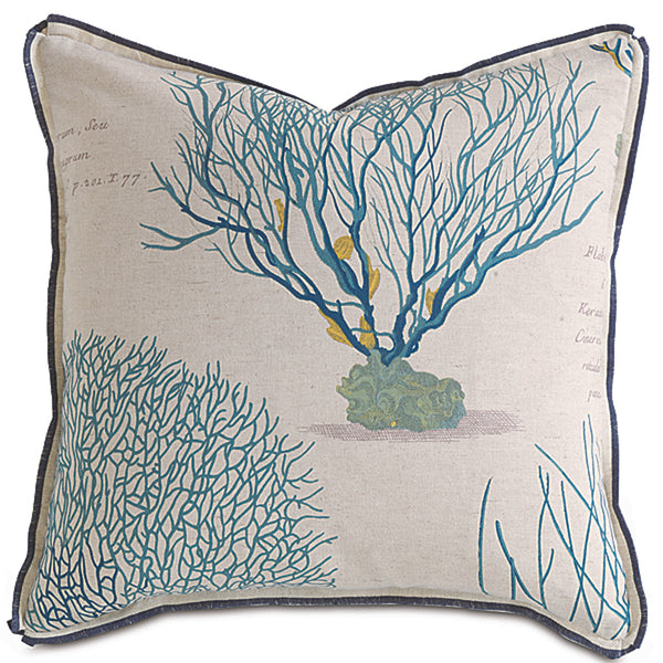 Astern Aqua Accent Pillow