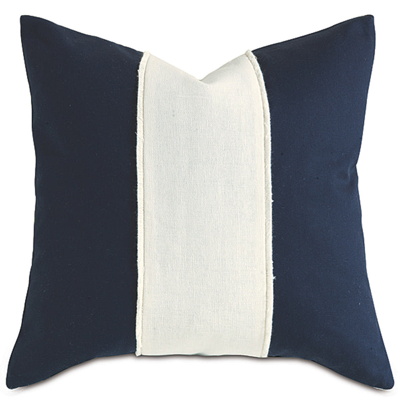 Filly White Accent Pillow