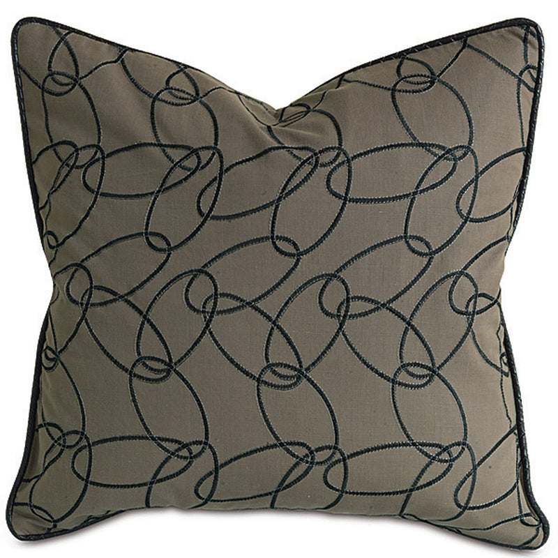 Loriner Ebony Accent Pillow