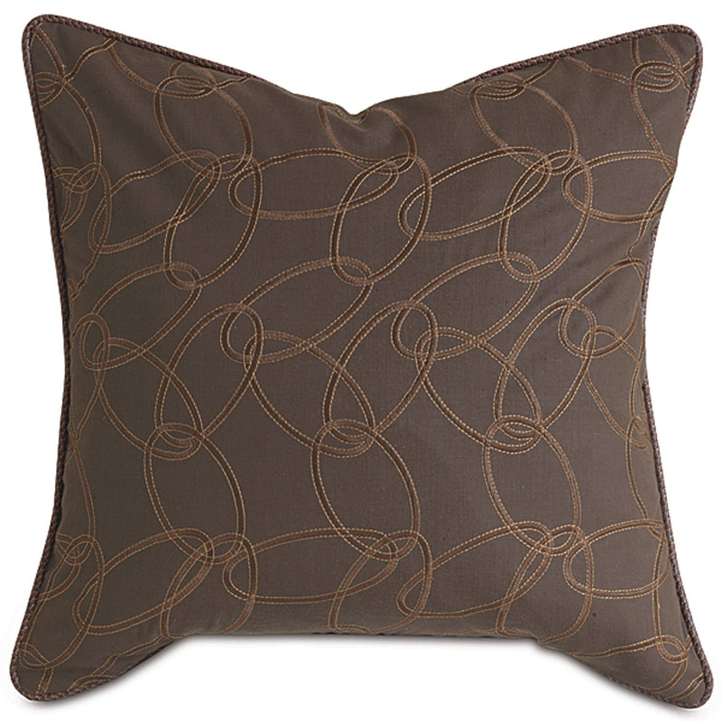 Loriner Walnut Accent Pillow