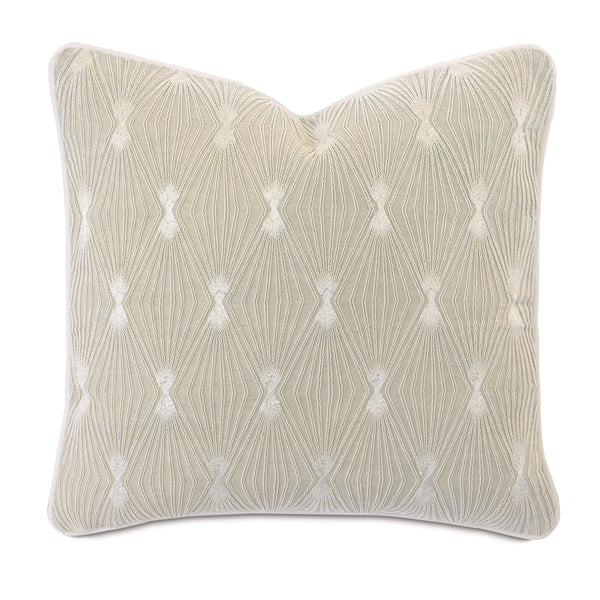 Palisades Embroidered Decorative Pillow